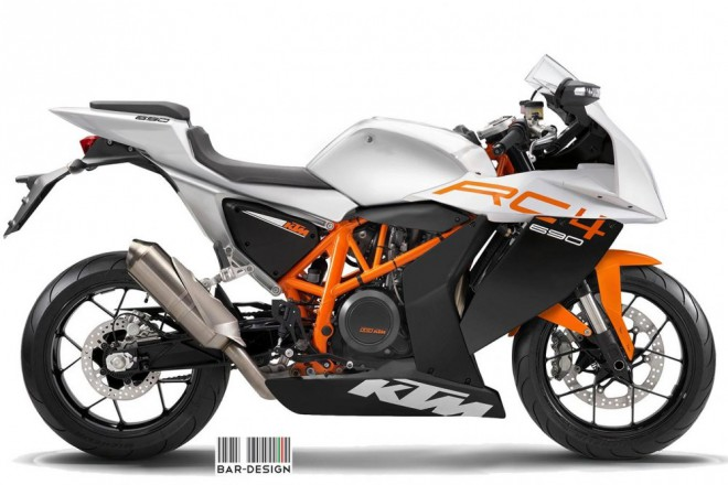 KTM RC4: koncept od Luka Bar Design