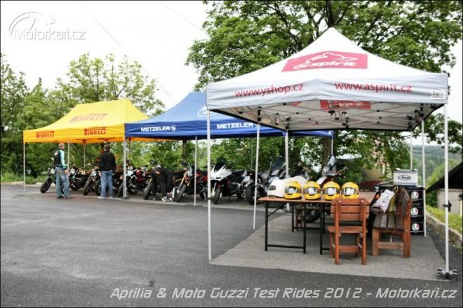 Aprilia & Moto Guzzi zvou na Demo Tour 2013