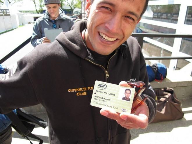 """Tourist Trophy: Michal """"Indi"""" Dokoupil má za sebou první trénink"""