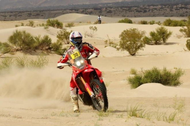 Tým HRC pro Rallye Dakar 2014