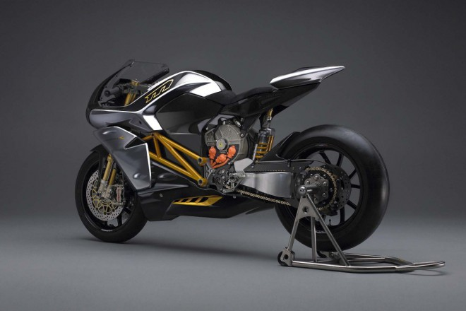 Elektrick� superbike Mission R