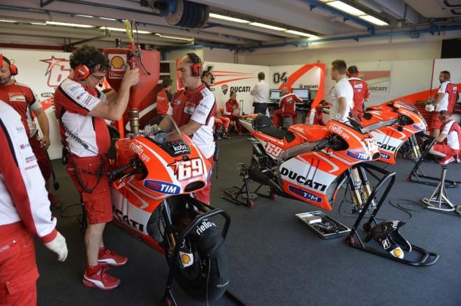 Zlep�en� nejsou velk�, ��kaj� tov�rn� jezdci Ducati
