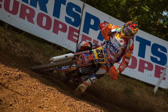 Smola vyhrál kvalifikaèní závod MX3