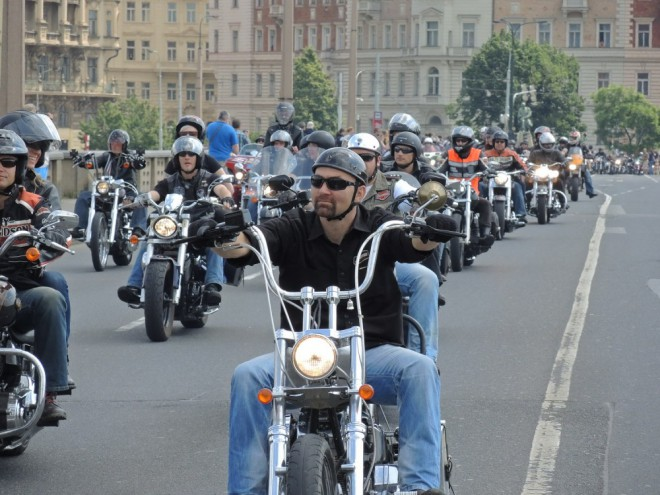 Harley-Davidson v Praze slavil 110. narozeniny