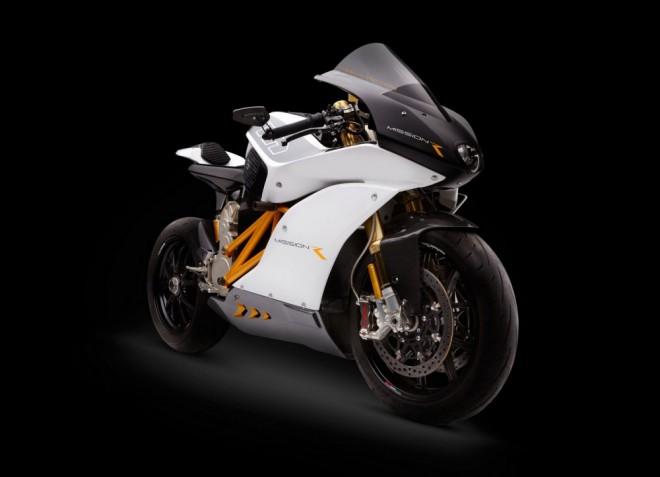 Závodní e-superbike Mission RS