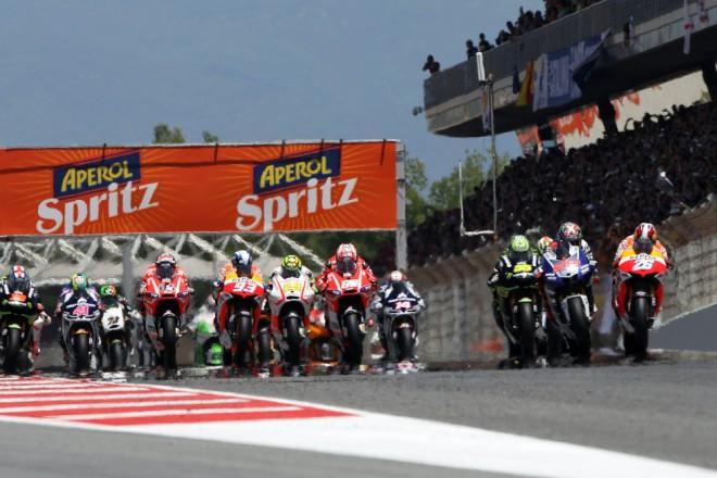 V pond�l� testuje MotoGP v Barcelon�