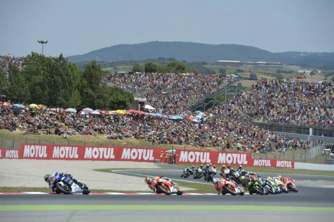 Test MotoGP v Barcelonì
