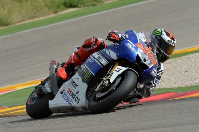 Na MotorLand Aragónu byl nejrychlejší Lorenzo