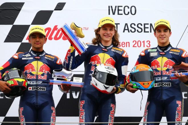 Hanika první závod v Assenu vyhrál