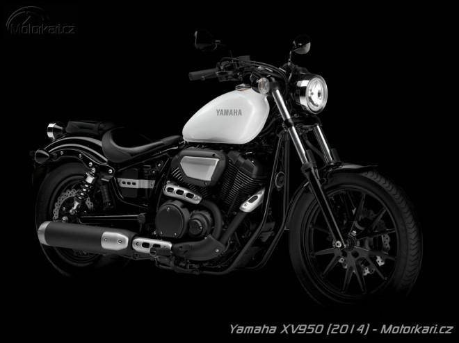 XV950: nový custom od Yamahy ve dvou verzích