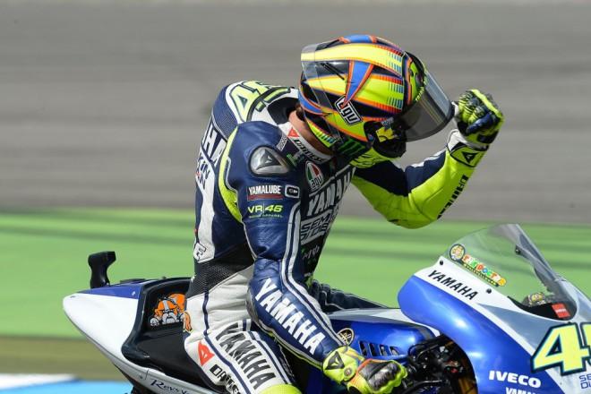 Vášeò vyhrávat Rossi neztratil