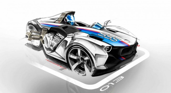 Koncept BMW tøíkolky od Nicolase Petita