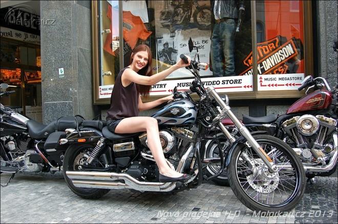Harley-Davidson Praha otevøel novou prodejnu v centru Prahy