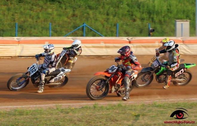 MÈR flat track Pardubice
