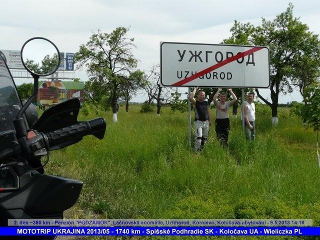 Mototrip Ukrajina - kvìten 2013