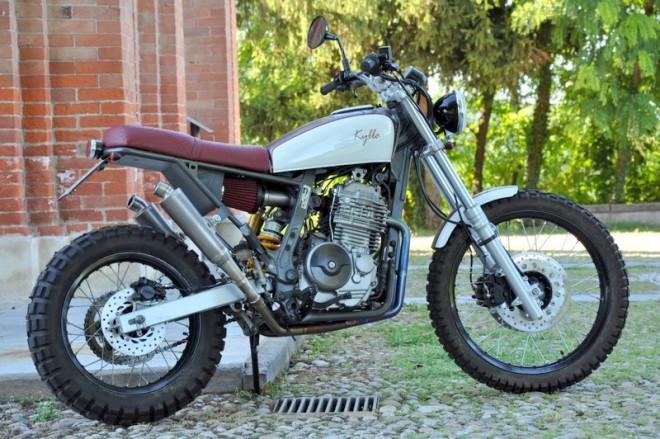 Stylová Honda Dominator 650 s názvem Kylla n°1
