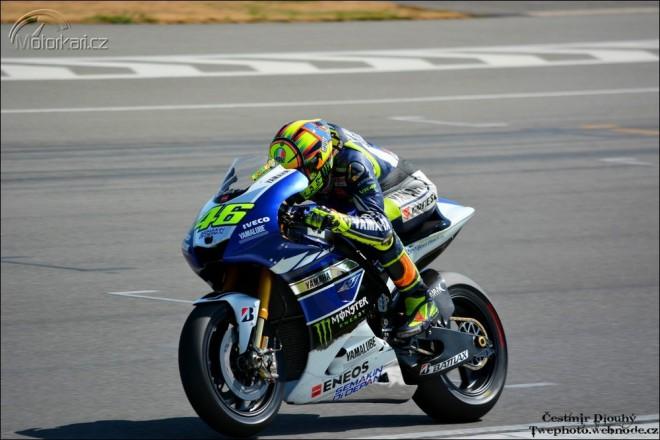 Rossi testoval v Brnì