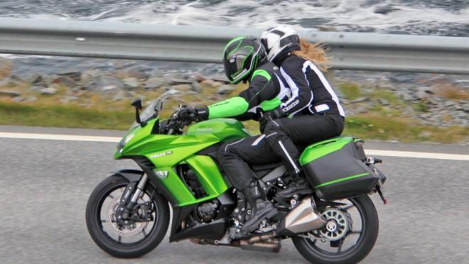 Kawasaki Z1000SX 2014 (spy photos)