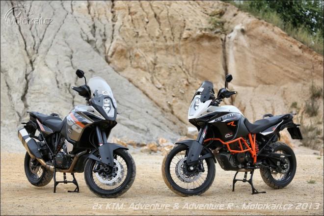 2x KTM: 1190 Adventure & Adventure R