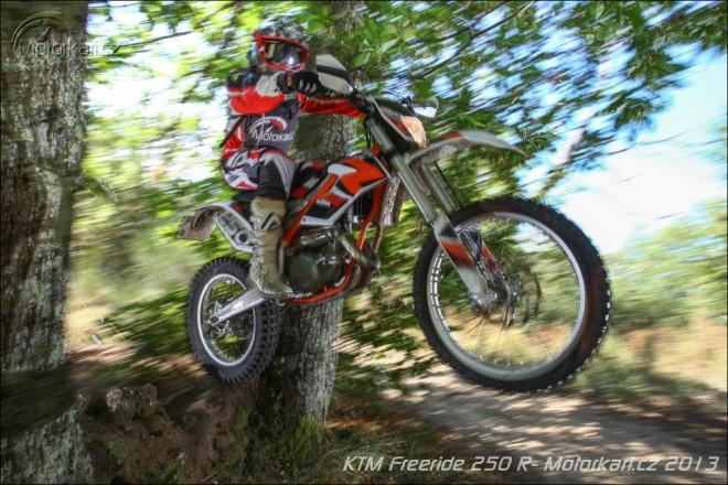 Testujeme KTM Freeride 250 R
