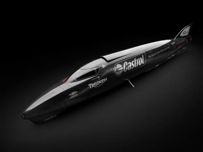 Triumph Castrol Rocket � je libo 640 km/h?