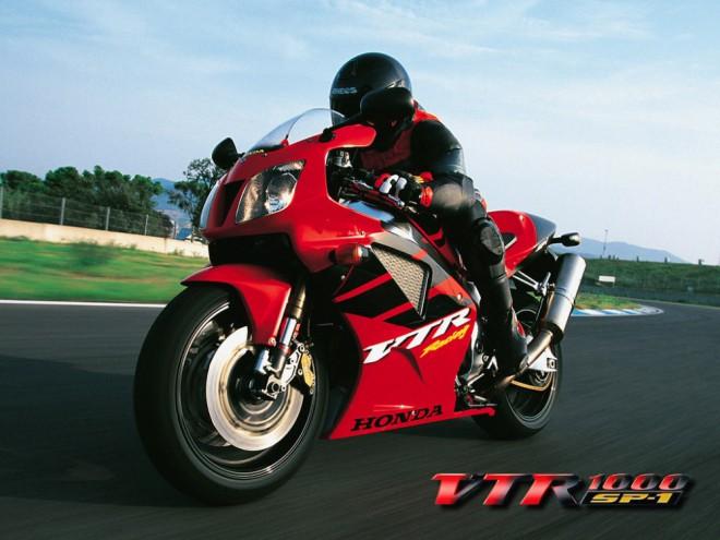 Z druhé ruky Honda VTR 1000 SP1/ SP2