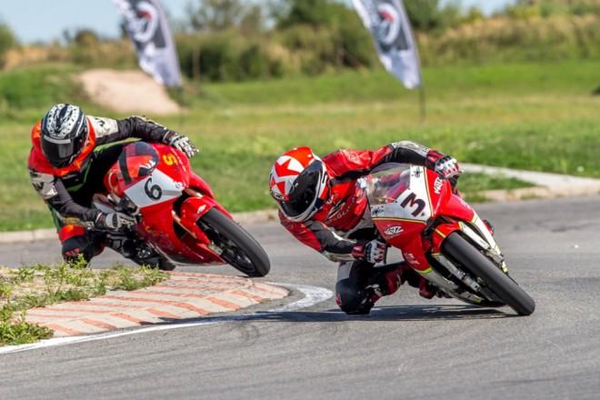 Mezinárodní pøebor MiniGP, Mini moto, Skútr – Vysoké Mýto 2013