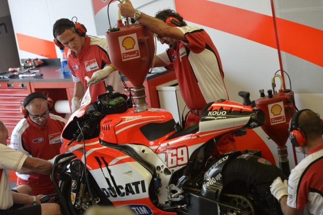 Druh� dom�c� Grand Prix pro Ducati
