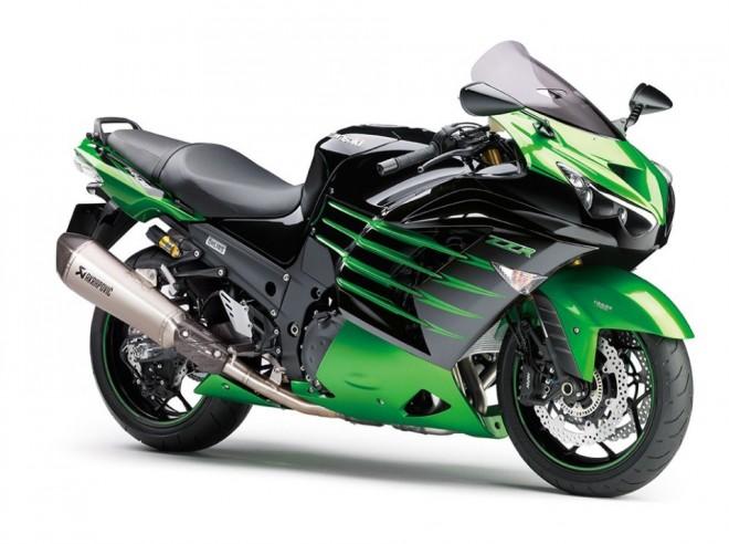 Kawasaki ZZR1400 Performance Sport nov� s tlumi�i �hlins