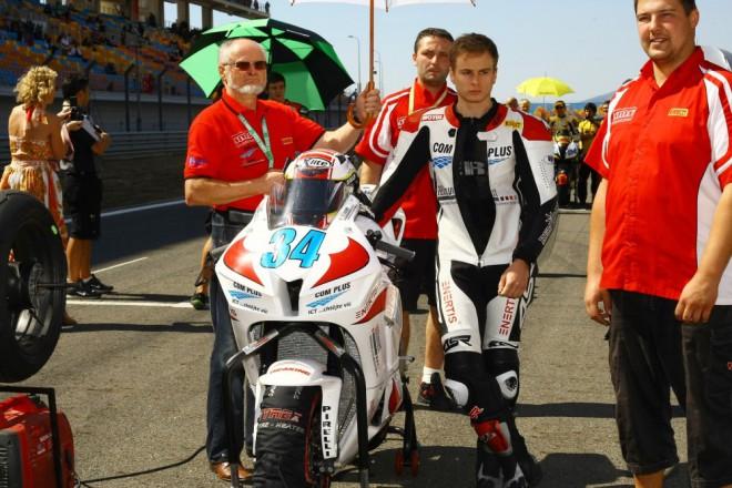 Technika zastavila nad�je Com Plus SMS Racingu