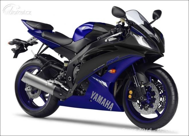 Modely Yamaha Race Blu Series a barvy v roce 2014