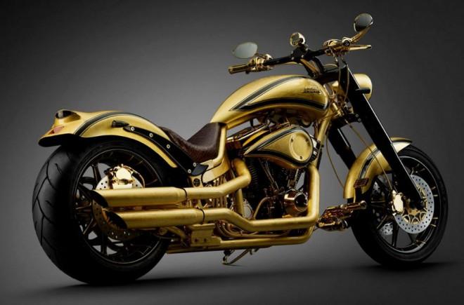 Motorka ze zlata za 17 mil. korun