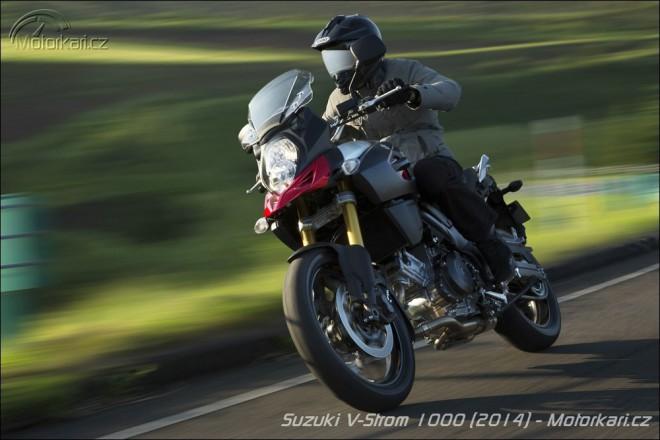 Nová Suzuki V-Strom 1000 oficiálnì venku
