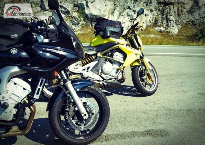 Ètyødenní mototrip na Slovensko 2013