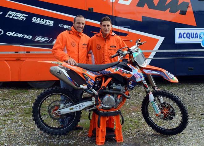 Ivo Monticelli podepsal u KTM Marchetti