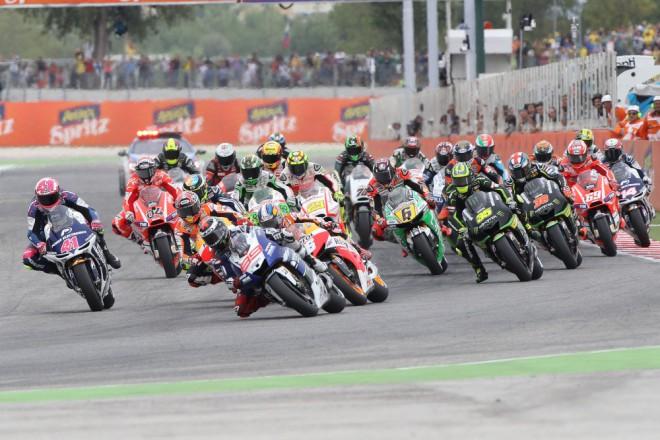 GP Aragonie – páteèní tréninky