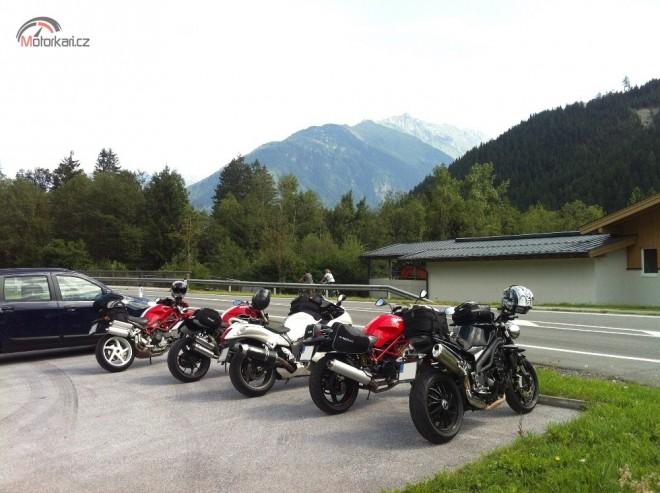 Rakousko s výletem do Italských passù….