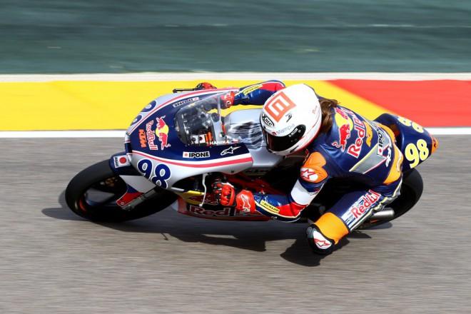 První závod v Aragonii vyhrál Hanika