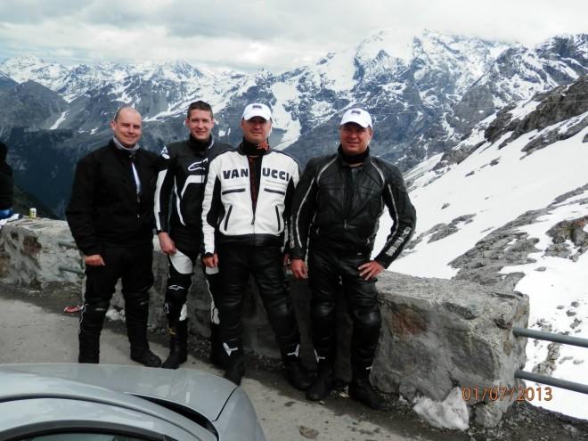TOUR 2013 - Nìmecko, Rakousko, Itálie, Slovinsko, Chorvatsko, Maïarsko, Slovensko.