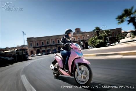 Recenzia Honda SH Mode 125 1
