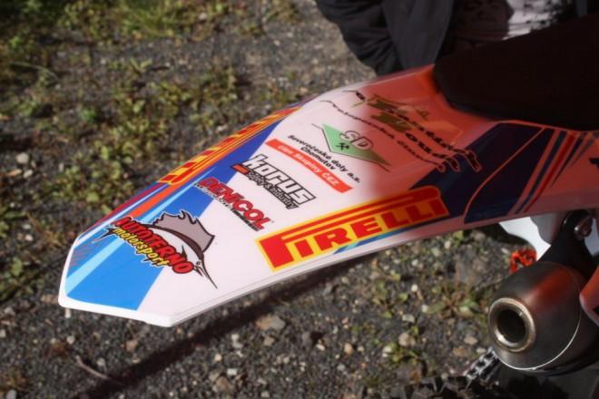 Jakub Tere��k: K�est nov� KTM 125SX