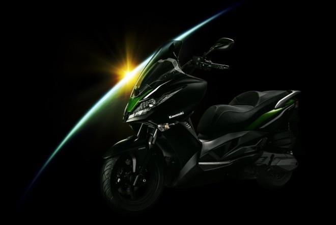 Kawasaki má první skútr pro Evropu