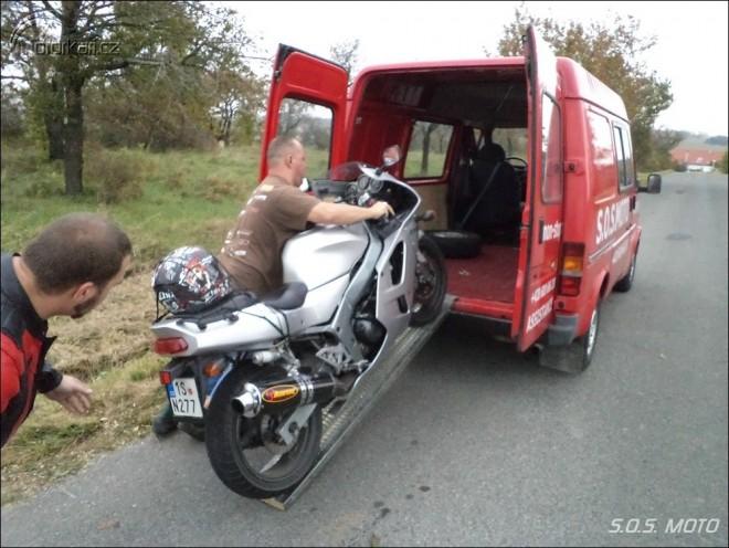S.O.S. MOTO - non stop asistence pro motorkáøe.