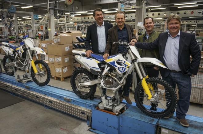 KTM AG rozj�d� v�robu motocykl� Husqvarna