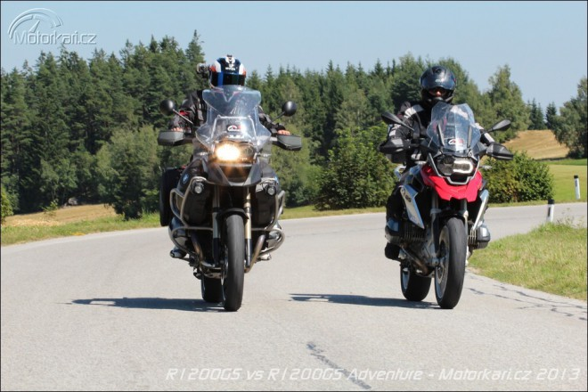 BMW R1200GS vs BMW R1200GS Adventure
