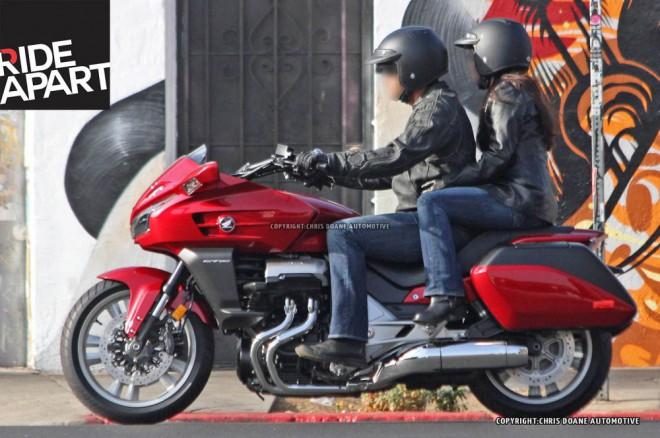 Honda CTX1300 2014 - spy photos
