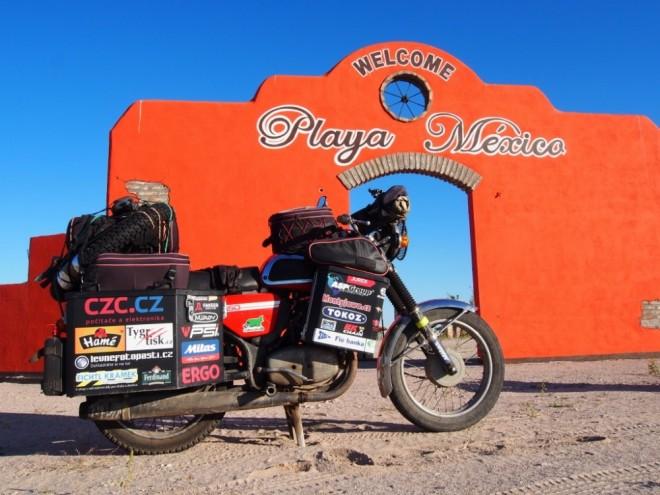 Jawa kolem svìta, díl 8. - Baja California a Mexiko