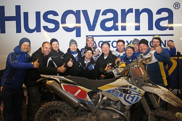Skvìlý debut nové Husqvarny FE 450