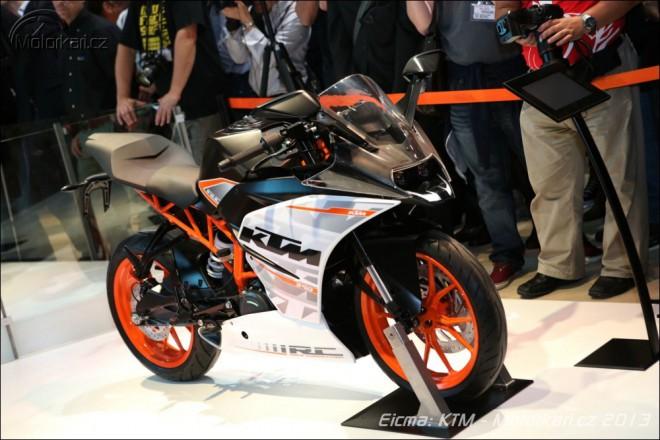 Eicma: KTM RC 125/200/390