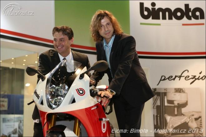 Eicma: Bimota BB3 s motorem z BMW S 1000 RR
